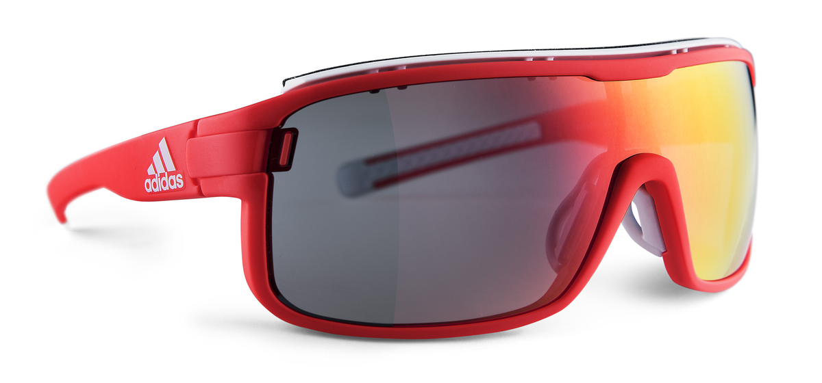 adidas Zonyk pro S Brille solar red red mirror jFaqb0Qe