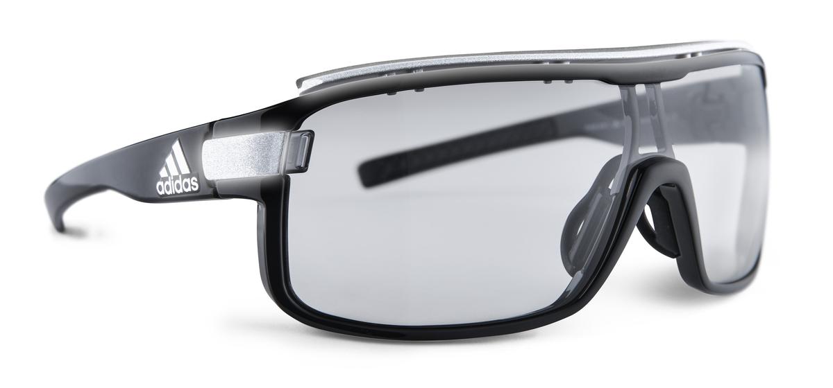 Adidas Eyewear Zonyk S Sonnenbrillen Sonnenbrille black shiny/grey XxNrYBVInj